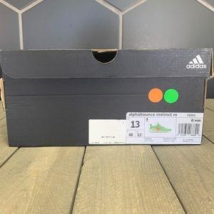 adidas Shoes - Adidas Alphabounce Instinct Shock Lime Green Shoe